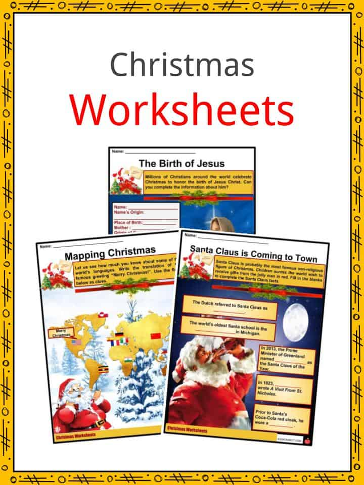 christmas facts worksheets information history traditions for kids. Black Bedroom Furniture Sets. Home Design Ideas