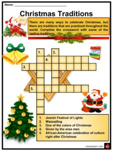 Christmas In Italy Crossword.Christmas Facts Worksheets Information History Traditions For Kids