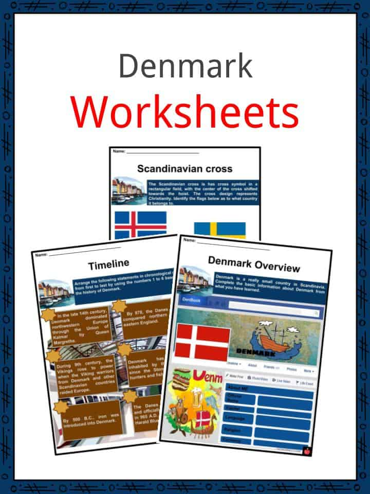 Denmark Worksheets on counting worksheets