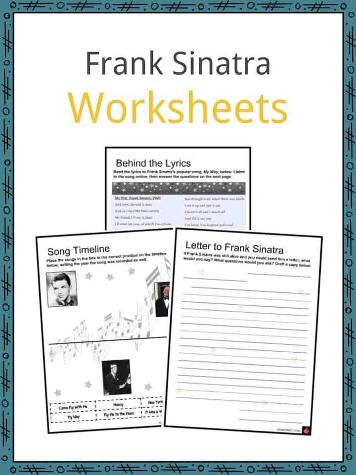 Frank Sinatra Worksheets