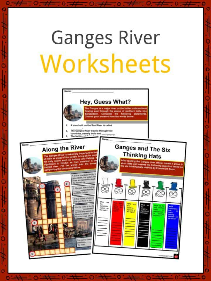 Ganges River Worksheets