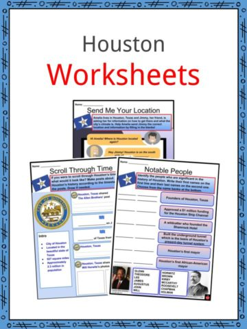 Houston Worksheets