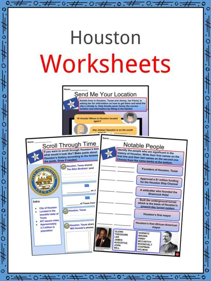 Houston Worksheets