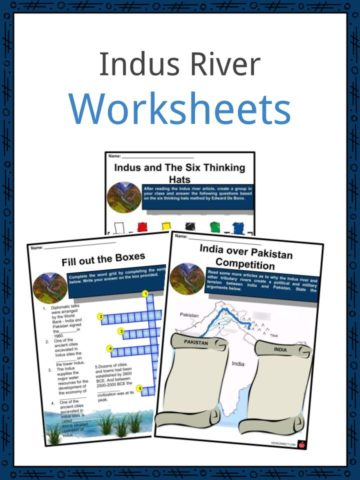Indus River Worksheets