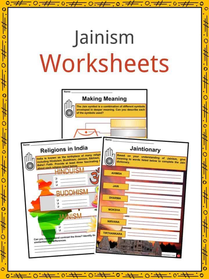 Jainism Worksheets