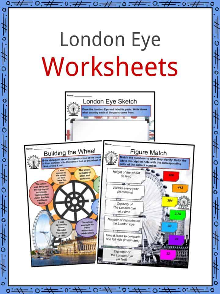 London Eye Worksheets