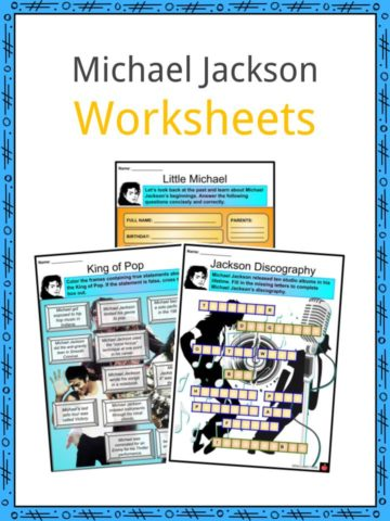 Michael Jackson Worksheets