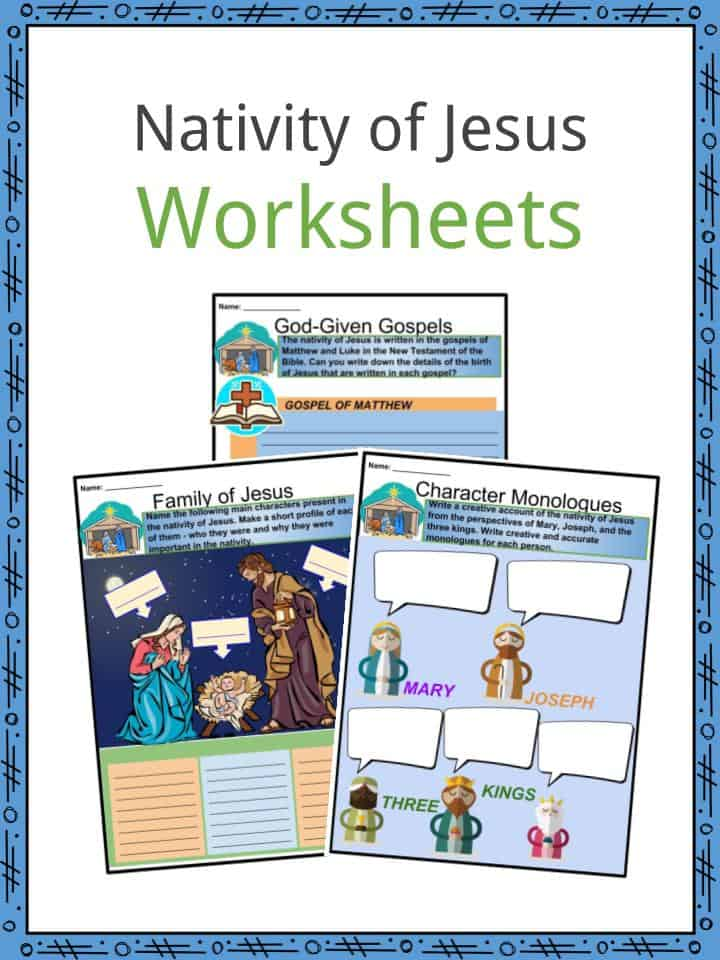 Nativity of Jesus Facts, Worksheets, Importance, Story & History For