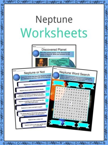 Neptune Worksheets