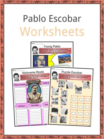 Pablo Escobar Worksheets