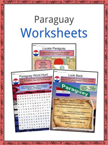 Paraguay Worksheets