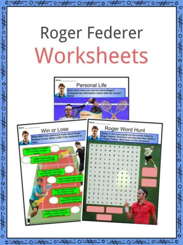 Roger Federer Worksheets