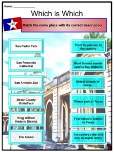 san antonio facts worksheets geography history climate people kids. Black Bedroom Furniture Sets. Home Design Ideas