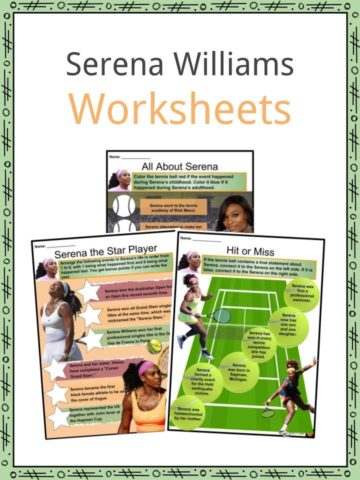 Serena Williams Worksheets