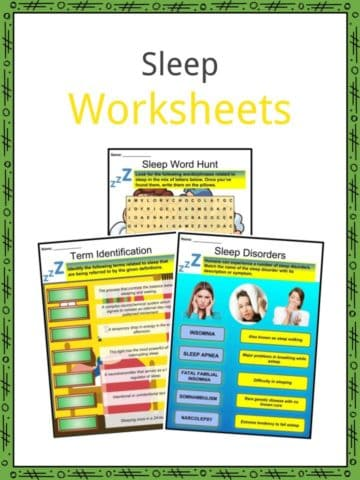 Sleep Worksheets