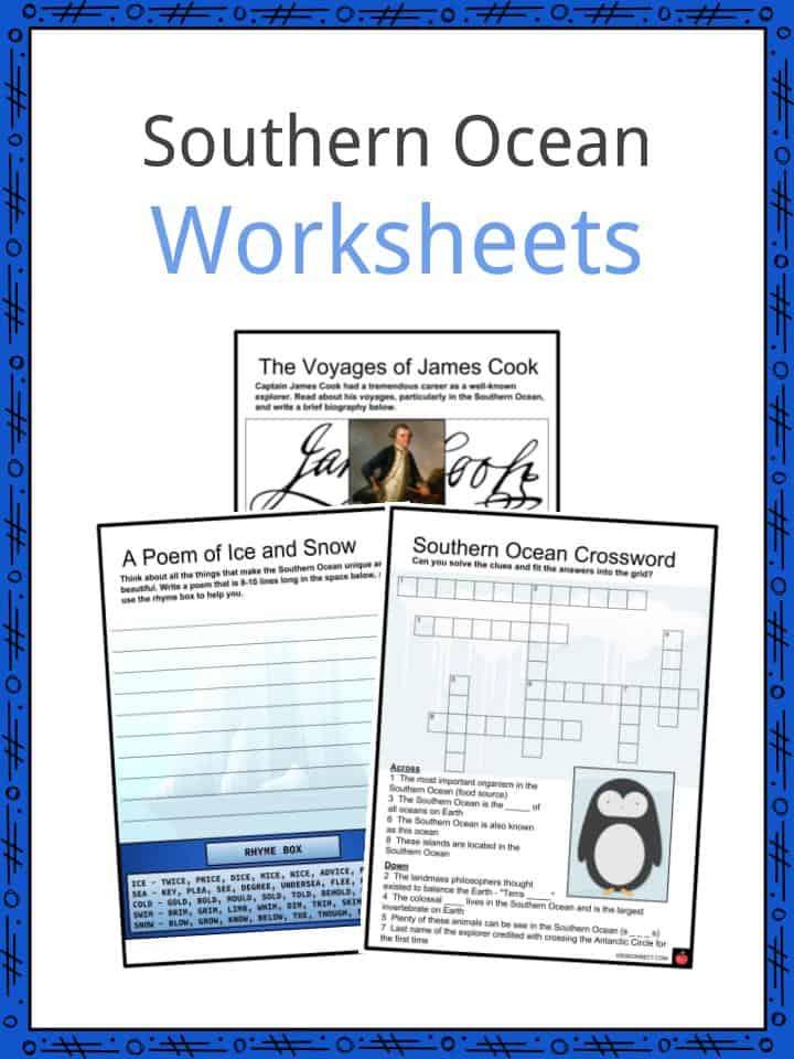 Southern Ocean Worksheets