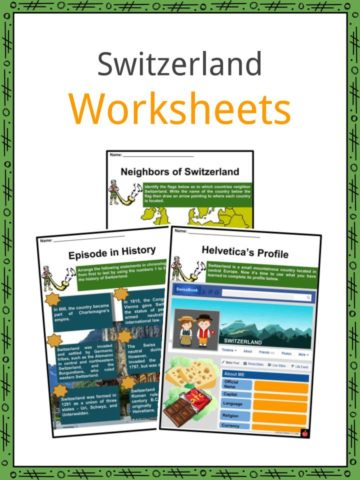 Switzerland Worksheets