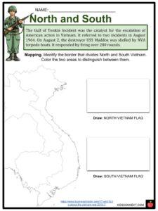 Vietnam War Facts, Worksheets, History, Start, End & Involvement Kids