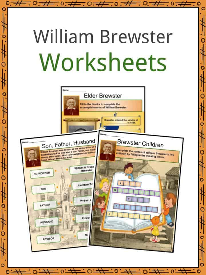 William Brewster Worksheets