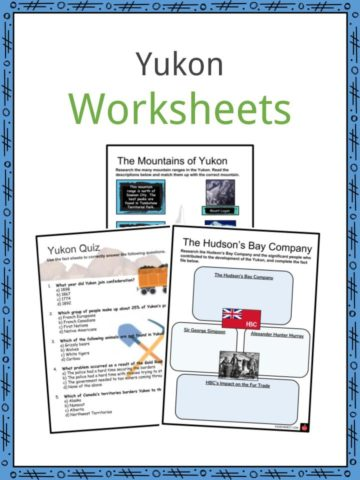 Yukon Worksheets
