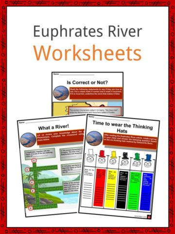 Euphrates River Worksheets