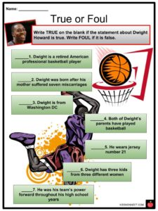 dwight howard facts worksheets career amp achievements for