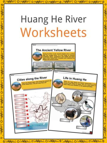 Huang He River Worksheets