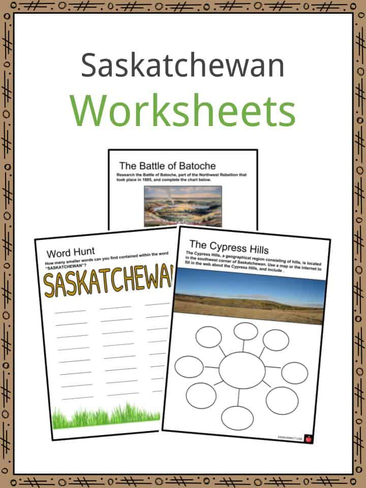 Saskatchewan Worksheets