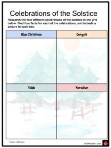 winter solstice facts worksheets history cultural significance for kids. Black Bedroom Furniture Sets. Home Design Ideas