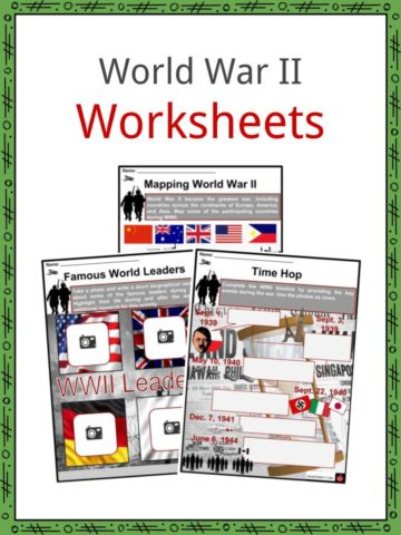 World War II Worksheets