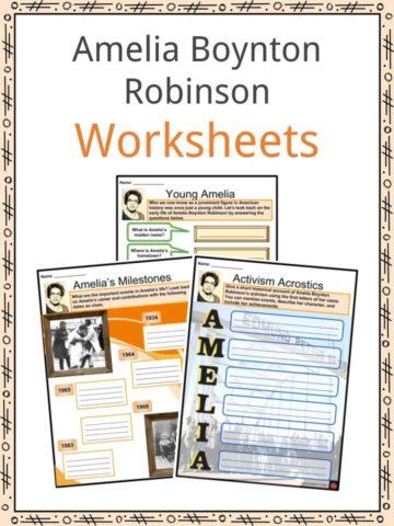 Amelia Boynton Robinson Worksheets