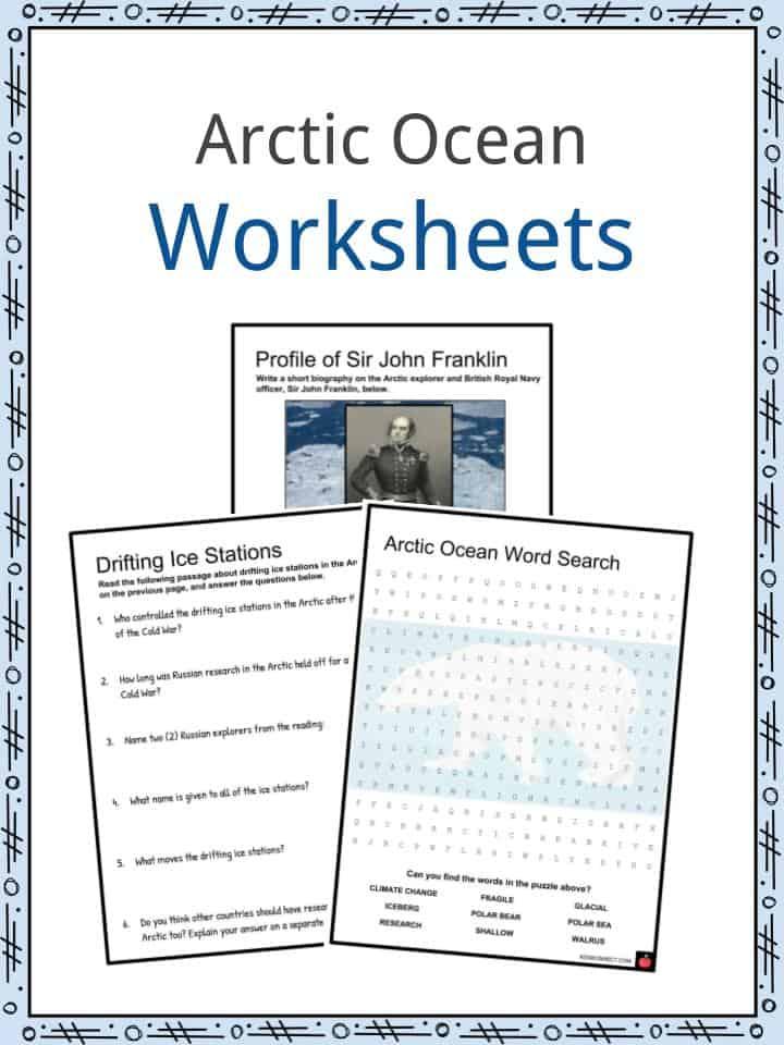 Arctic Ocean Worksheets