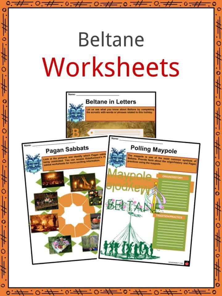 Beltane Worksheets
