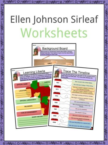 Ellen Johnson Sirleaf Worksheets