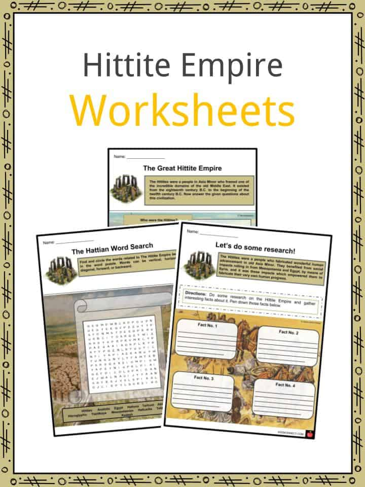 Hittite Empire Worksheets