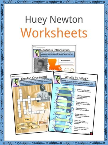 Huey Newton Worksheets