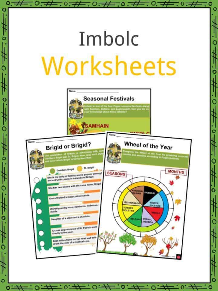 Imbolc Worksheets