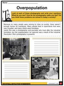 Industrial Revolution Facts, Worksheets, Inventions & Timeline For Kids