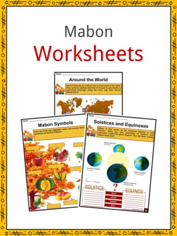 Mabon Worksheets