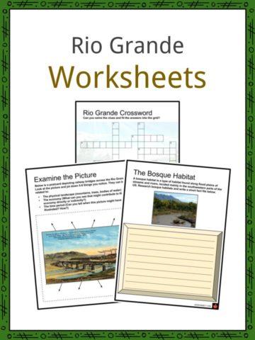 Rio Grande Worksheets