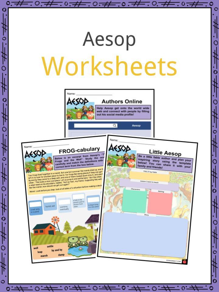 Aesop Worksheets