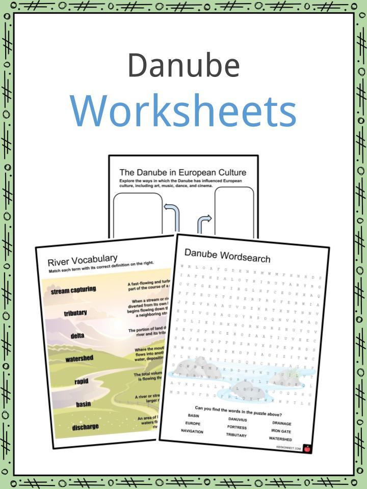 Danube Worksheets