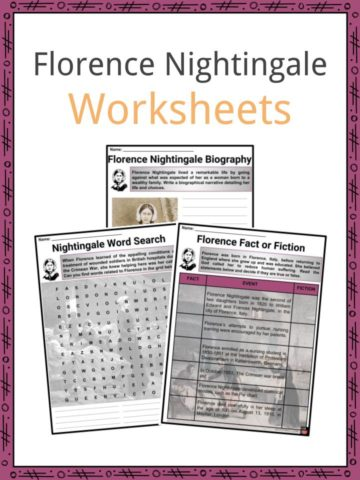 Florence Nightingale Worksheets