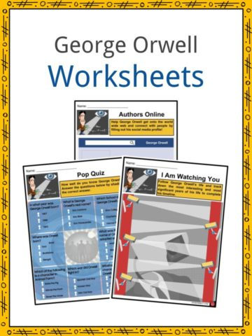 George Orwell Worksheets