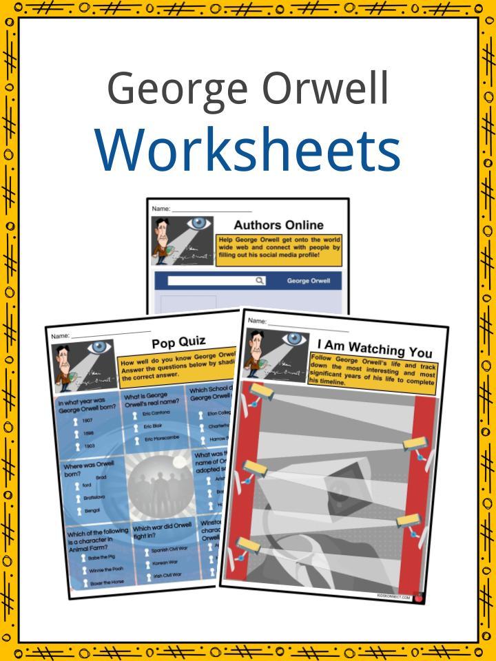 George Orwell Worksheets