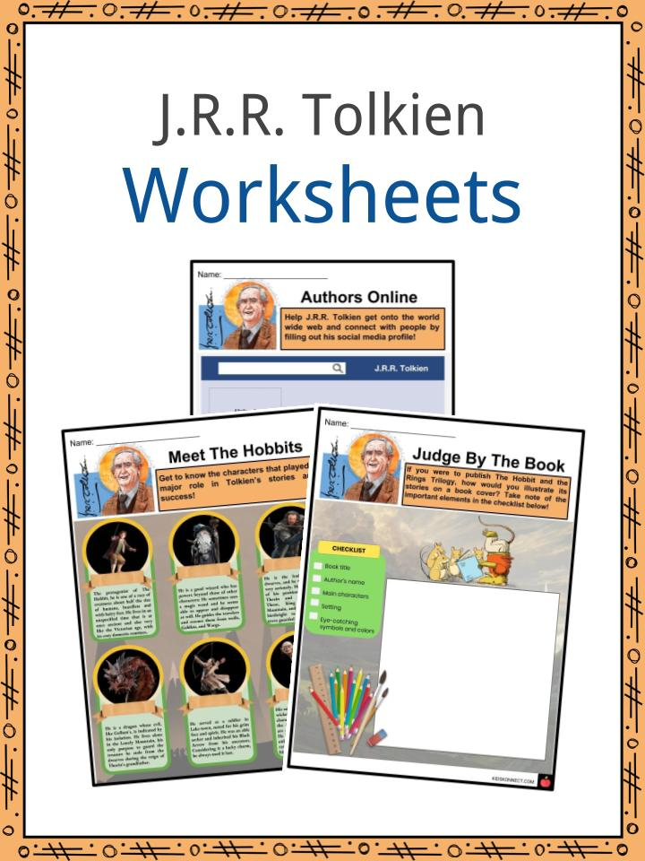 J.R.R. Tolkien Worksheets