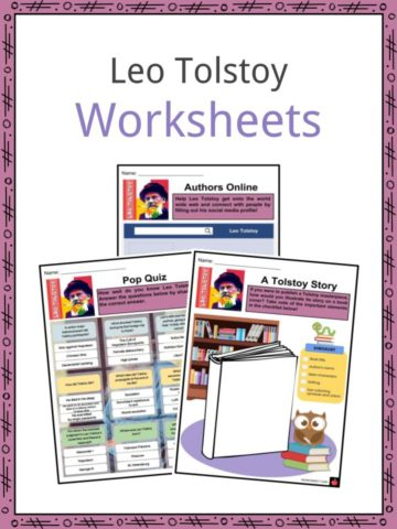 Leo Tolstoy Worksheets