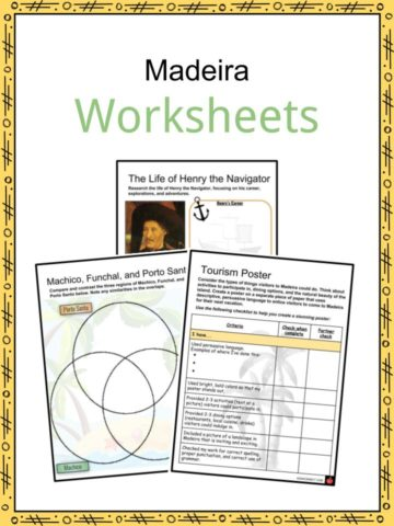 Madeira Worksheets