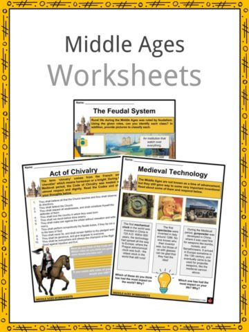 Middles Ages Worksheets