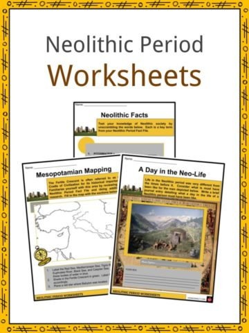 Neolithic Period Worksheets